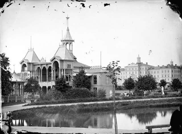 flustret ca 1870-1880