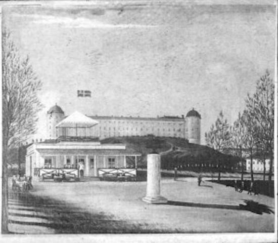 paviljongen 1840-talet