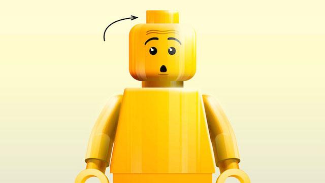 Legogubbar-hal-i-huvudet