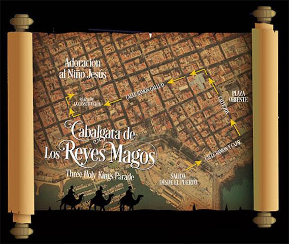 Carta Reyes Magos A4