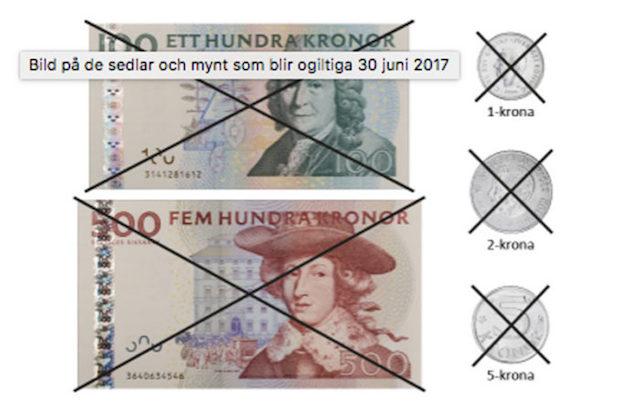 sverige nya sedlar